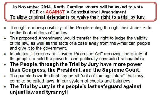 NC Constitution Vote
