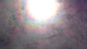 Another shot of Rainbow around Sun