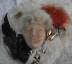 Shaman Orgone Mask