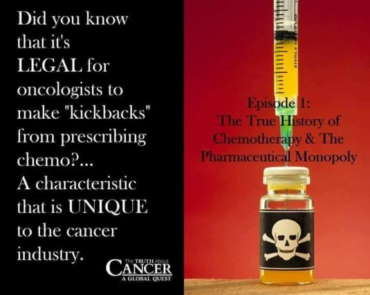 Chemo Kills! Cancer can be cured naturally!